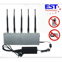Digital Cell Phone Blockers Jammers / WIFI jammer For Mobile Phone Manufactures