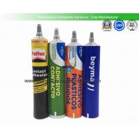 Empty Glues Aluminum Squeeze Tubes 80ml Light Weight Recyclable Corrosion Resistant Manufactures