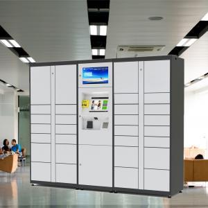 Intelligent Parcel Delivery Lockers Metal Storage Cabinet For Public Safe Manufactures