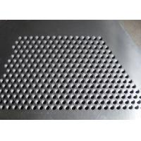 Hot Dipped Perforated Galvanised Sheet , Perforated Steel Plate For Stair Tread Manufactures