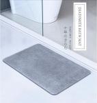 High quality super absorbant diatomaceous earth mat eco-friendly non slip diatomite bath mat Manufactures