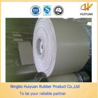 White Thickness 7mm Rubber Conveyor Belt not PVC belt (CC56/NN/EP) Manufactures