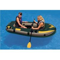 Custom Logo 2 Person PVC Inflatable Boat For Rowing 240 X 135cm Manufactures