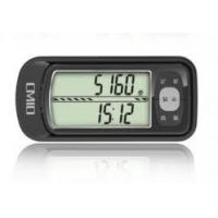 China Multi Function Highly accurate 3D step Counter Pedometer with Clock on sale