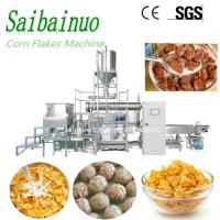 New Technology Stainless Steel Breakfast Cereals Machine Corn Flakes Plant Manufactures