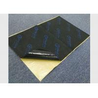 Black Rubber Foam Sound Proof Pads Self - Adhesive 7mm Fireproof Acoustic Material Manufactures