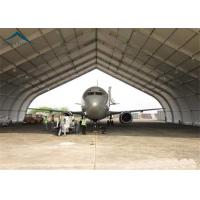 High Strength Rustproof Air Plane Hanger With Steel Space Truss Structure Manufactures
