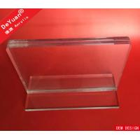 Plexiglass Sandwich Thick Transparent Acrylic Sheet Holder With Base Manufactures