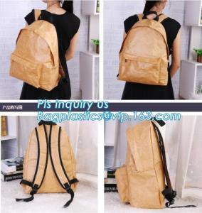 Tyvek Material Anti Theft Travel Sequin School Girls Ladies Women Foldable Backpack Bag Waterproof,Tyvek paper tote bag, Manufactures