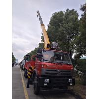 China factory direct sale best price dongfeng 6*4 RHD 10tons truck with crane, dongfeng 210hp 10tons truck mounted crane on sale