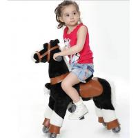 Fashion Amusement Park Equipment Mechanical Pony Kid Ridding On Walking Animal Manufactures