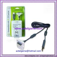 Xbox360 Dedicated charging & connecting 2in1 cable xbox360 game accessory Manufactures