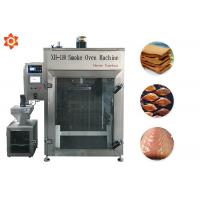 China 100Kg Food Smoking Equipment / Chicken Smoking Machine 12 Month Warranty on sale
