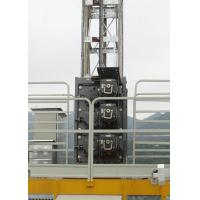 Low Starting Current Buck Hoist Elevator , Rack & Pinion Elevator Cage Height Internal 2.35M Manufactures
