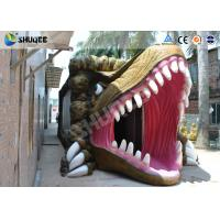 Dinosaur Movie Theater Equipment With Red Comfortable Chairs Manufactures