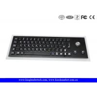 China Compact USB Industrial Computer Keyboard with Optical Trackball and Korean Layout wholesale