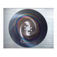 Carbon Steel Metal Cutting Circular Saw Blades For Sawing Machine , ISO / CE Manufactures