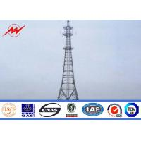 220 Kv Galvanized Steel Pipes Tube Mono Pole Tower 10m-200m Widely Used Manufactures