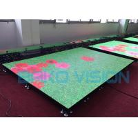 P3.91 Outdoor Dance Floor LED Display T Stage Show Bearing 1.8 Tons For Stage Manufactures