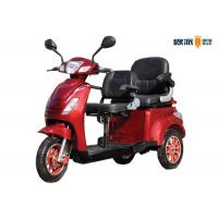 Indoor Adult Electric Mobility Scooter For Two Peoples 1000w Motor Power Manufactures
