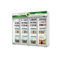 China Upright Commercial Glass Door Refrigerator Cold Drink Display Glass Door Cooler wholesale