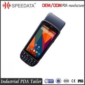 Portable Handheld RFID Reader Barcode Scanner / Card Reader / Printer / Fingerprint Manufactures