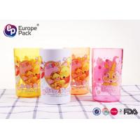 Quality 0.12 CBM Leak Proof Personalised Plastic Cups For Children Non Toxic for sale