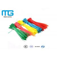 Fireproof Nylon Cable Ties With Stand Excellent High Temperature Resistance Manufactures