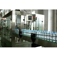 3 In 1 Automatic Water Filling Machine 3000 Bottles Per Hour One Year Warranty Manufactures