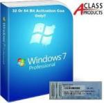 OEM COA License Sticker Windows 7 Professional Product Key Retail Version Manufactures
