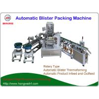 Auto Rotary Blister Packing Machine , Blister Thermoforming Machine For Air Refresher Manufactures