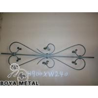 China Ornamental Forged Iron Railing for Stair&Fence on sale