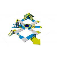 Inflatable Aqua Park Equipment / Inflatable Commercial Water Park Toys Manufacturer Manufactures