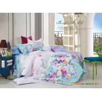 Colorfule 4 Piece Bedroom Bedding Sets , Butterfly / Flower Printed Bedding Sets Manufactures