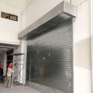 Aluminum Sliding Door Roller Shutter Door for Trucks/Vehicles/Buildings etc