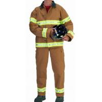 Nomex Light Weight Two Big Patch Pocket Fireman Turnout Gear Adjustable Braces Manufactures