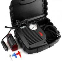 Dc 12v Portable Air Compressor Black Color 250psi Customized With Watch Manufactures