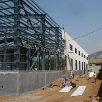 ISO Certificated Industrial Prefabricated Steel Building with Office Manufactures