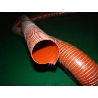 factory the wholesale price tube silicone coated pipe glass fiber two layer hose fabric flexible duct Manufactures
