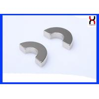 Waterproof Permanent Arc Segment Magnets Curved Neodymium Magnetic Materials Manufactures