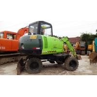 Used Hyundai R60W-5 Wheel Excavator for sale Manufactures
