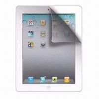 High Quality Clear Screen Protector for for iPad 3, with Japanese PET Material and 4H Hardness Manufactures