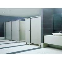 High Density Toilet PVC Partition Board Thin Thickness 15mm Glossy Solid Color Manufactures