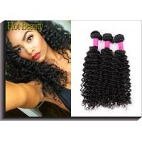 """China Deep Curly  Unprocessed Human Hair Extensions Clean And Soft Quality 10""""-30"""" wholesale"""
