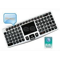 China 2.4Ghz Mini Backlit Wireless Keyboard with Touchpad Built-in Detachable -ZW-51007(MWK03) on sale