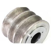 Sintered diamond rotary dressing wheel with muti groove Manufactures
