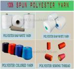 spun polyester yarn ,raw white paper cone yarn,spun polyester sewing thread yarn,thread,sewing thread Manufactures
