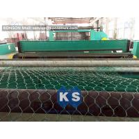 Automatic Double Twist Hexagonal Wire Mesh Machine PLC Control System Manufactures