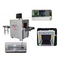 38 AWG Resolution X Ray Security Scanner , Friendly Interface Baggage Scanner Machine Manufactures