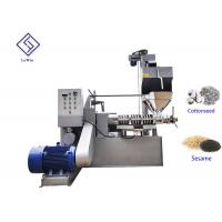Buy cheap Lewin CE screw oil extracting machinery cold pressed oil milling machine from wholesalers